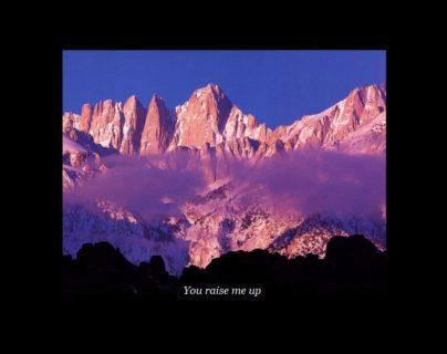 You Raise Me Up / Josh Groban  楽譜販売開始しました!